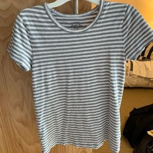 J. Crew striped studio tee